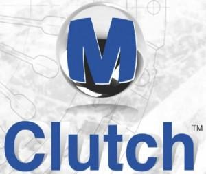 M Clutch Blou
